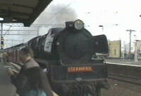 [Steam train]