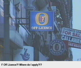 F Off Licence - where do I apply?!?