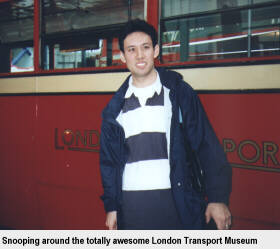 Snooping around the totally awesome London Transport Museum