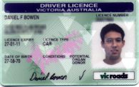 Australian Driving Licence
