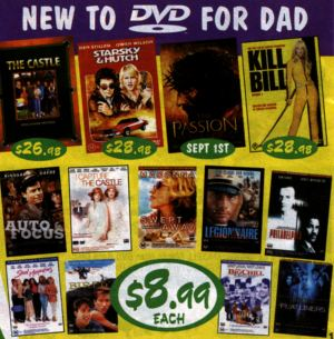 DVD catalogue