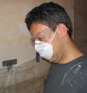 Daniel in mask