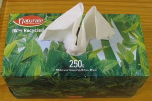 Naturale recycled tissues