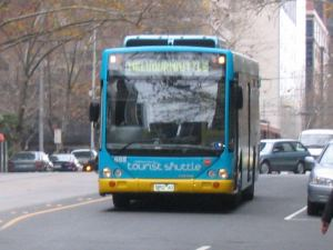 Melbourne tourist shuttle