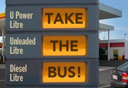 Take the bus! From Crikey