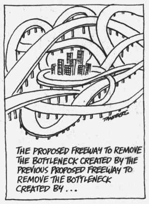 Tandberg freeway cartoon