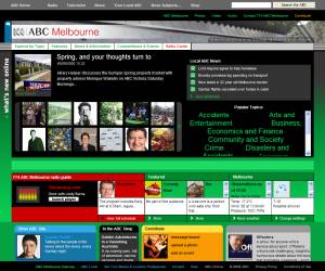 ABC web site late-2008