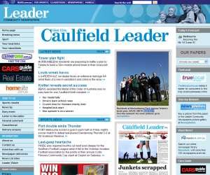 Old Caulfield Leader site