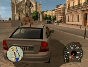 Opel Astra in Midtown Madness 3.