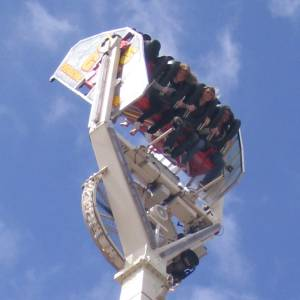 Upside-down ride