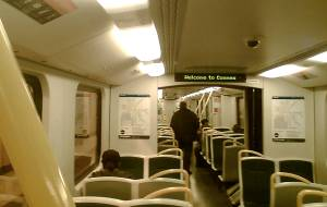Siemens train interior