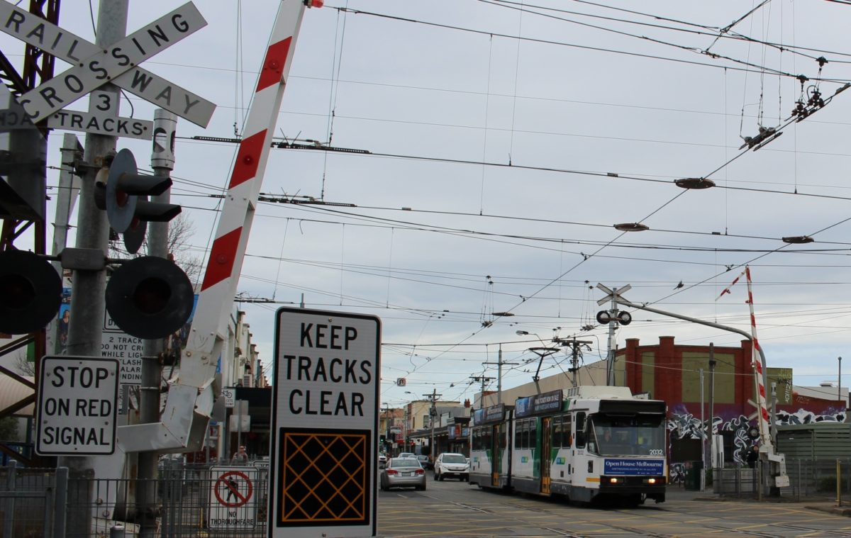 Would the 67 tram benefit from removal of the level crossing?