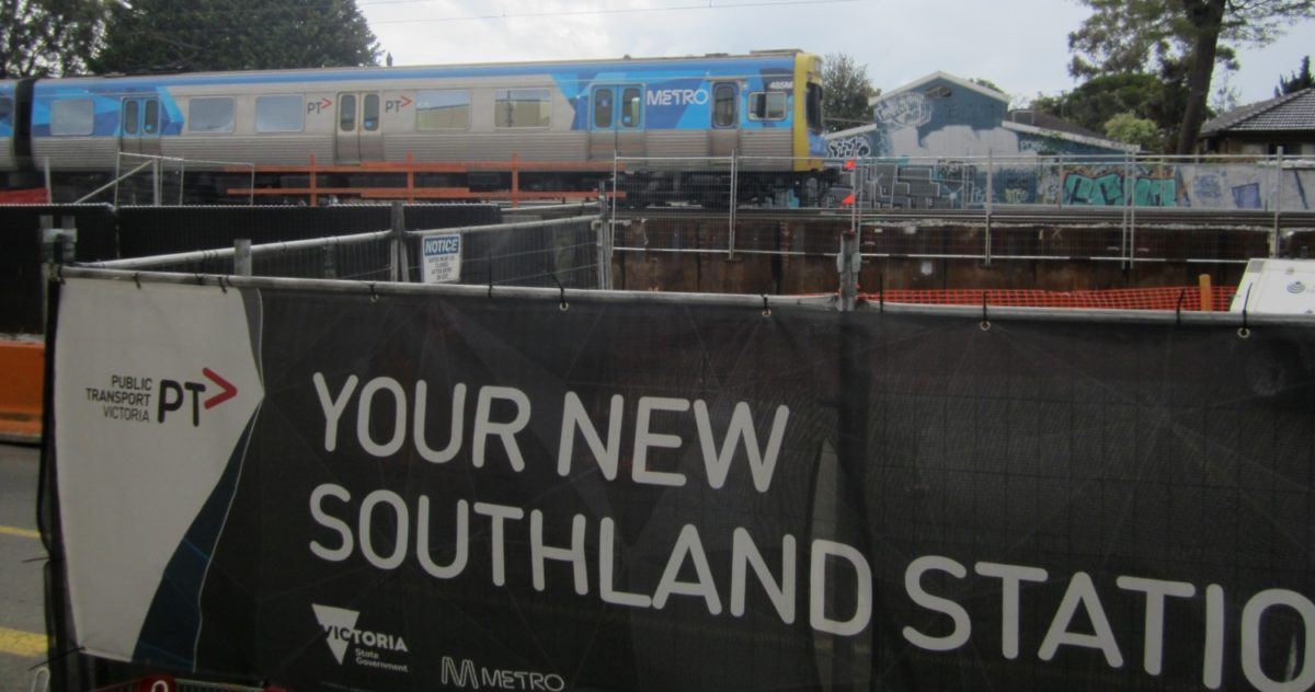 After years of inaction, great to see progress on Southland station