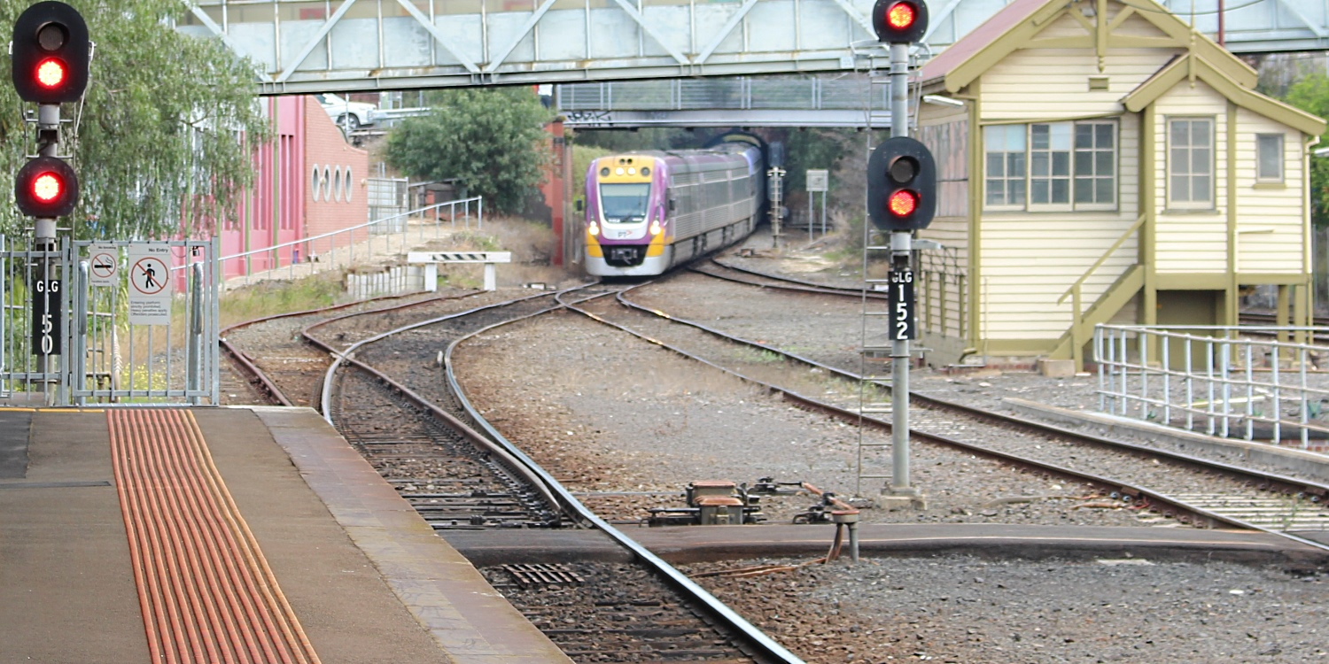 "V/Line Geelong and the ""good old days"""