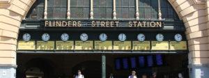 Flinders St Station entrance